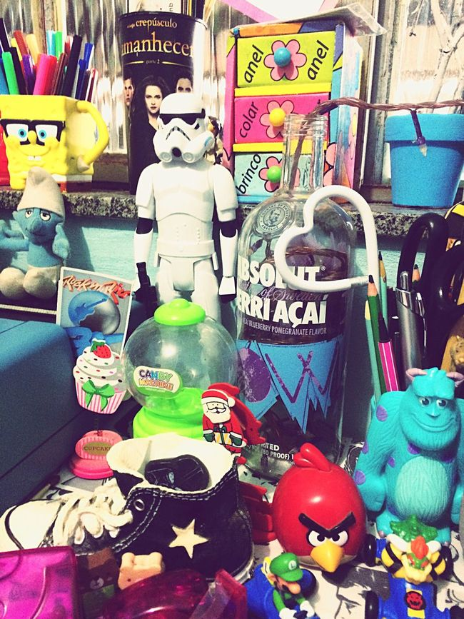 Mess Home Office Stormtrooper Monsters INC Star Wars Check This Out Typewriter Vintage Taking Photos Good Night Mario Kart Mario Bros Angrybirds