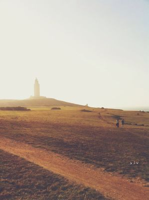 iPhoneography at torre de hércules by yiv