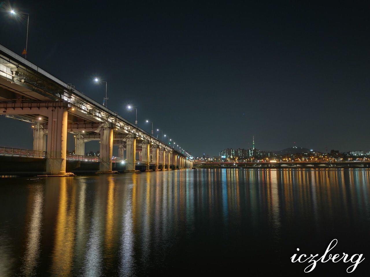 Banpo bridge Banpobridge Banpo Bridge Banpodaegyo Seoul South Korea River River View Reflect Reflectivelight