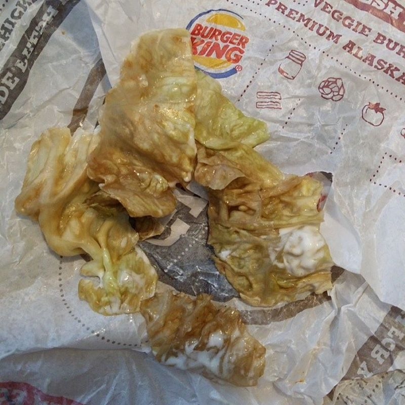 @burgerking thanks but no thanks for the awful looking & tasting lettuce. Notmyway Nofilter Food Burgerking yuck android note