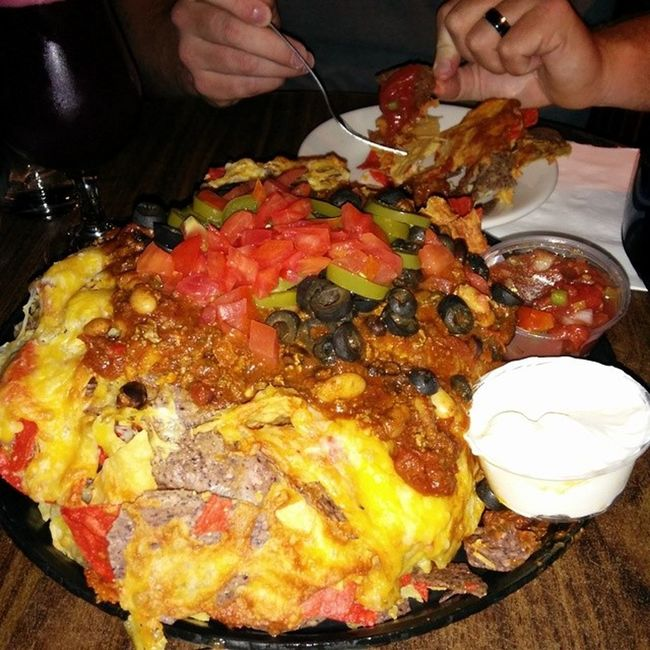 Brown's Tap room Nachos. Thisiswhyimfat Troy