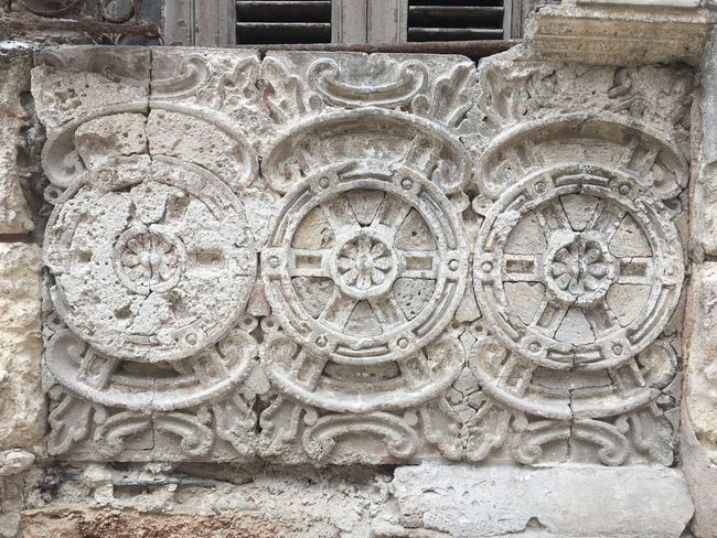 Cuba History Architecture Built Structure Stone Material Day Outdoors No People Ancient Close-up