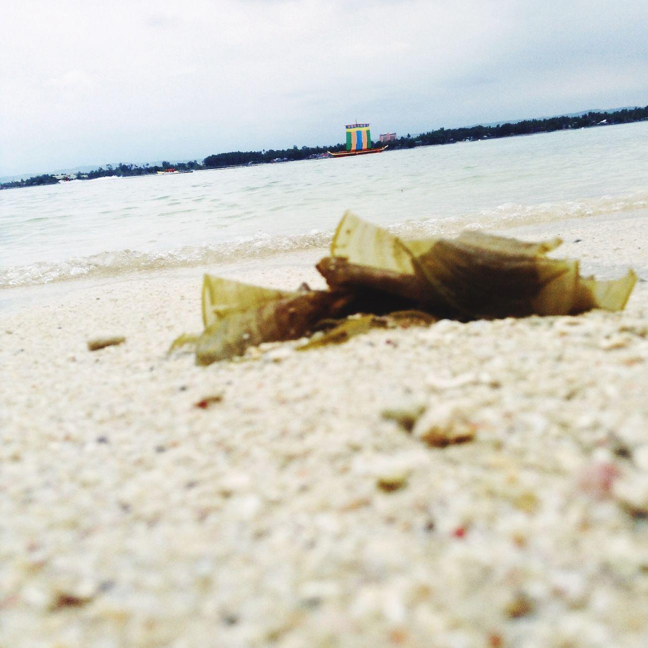 Sand Beach Boat Sea Island