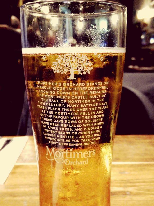 Cider Mortimer London Drinks