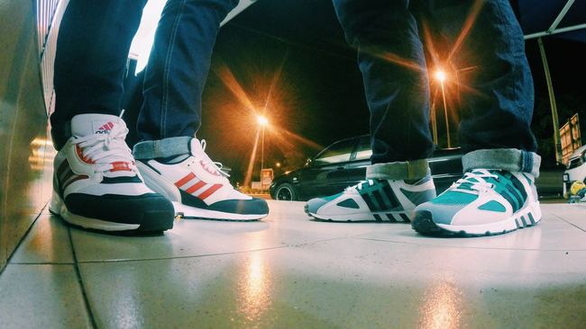 T R I F O I L / / / Adidas Adidasoriginals Teamtrifoil Trefoilonmyfeet Kotd Womft Sneakerhead  Sneakerholics