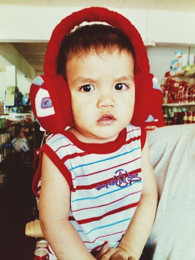 Looking At Camera Portrait Close-up