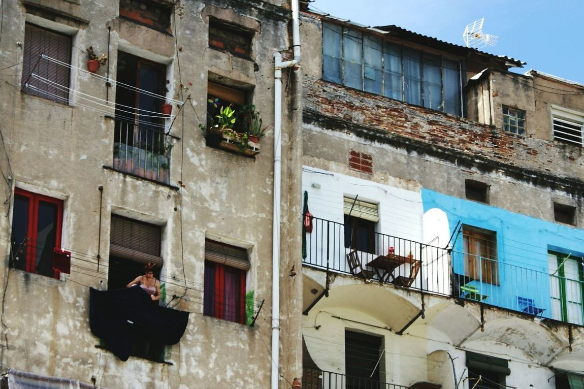 Apartment Buildings Urban Life Amazing Architecture A Day In The Life Balcony Windows Barcelona, Spain Life Essentials The Street Photographer - 2015 EyeEm Awards The Architect - 2015 EyeEm Awards The Changing City Wall - Building Feature Getting Inspired