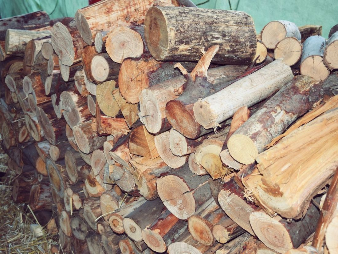 Firewood Stack Log Winter Is Coming Chopped Farm Farm Life Myfarm Ready For Winter