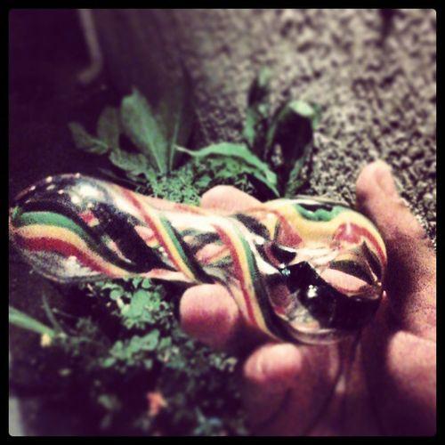 My new baby girl Mary ! ColorChanging RASTA Marijuana PincheMarijuana MyBaby Mary