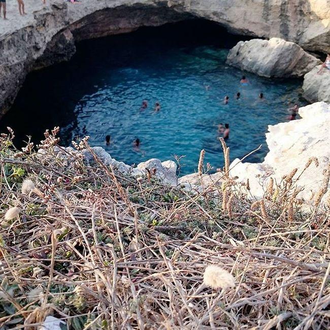 Grottadellapoesia Salento2015 Salento Puglia Estate Viaggio Vacanze Tuffi  Un tuffo dove l'acqua è più blu, niente di più.