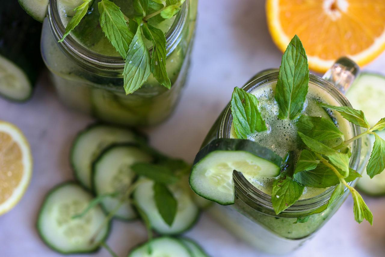 Beautiful stock photos of orange,  Beverage,  Close-Up,  Cucumber,  Day