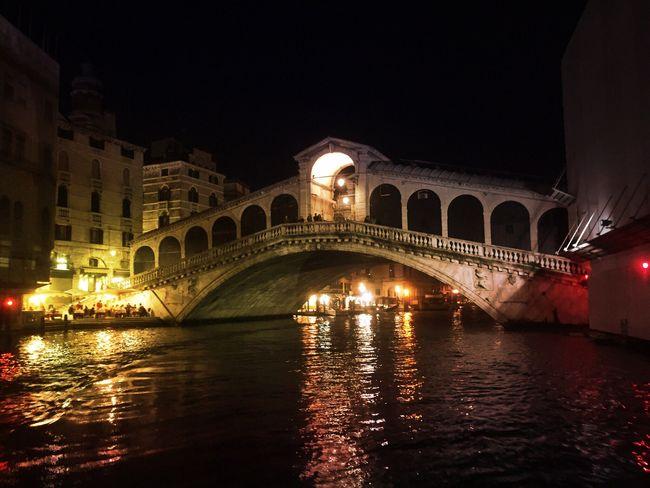 Night Nightphotography Nightlights Rialtobridge Rialto Bridge