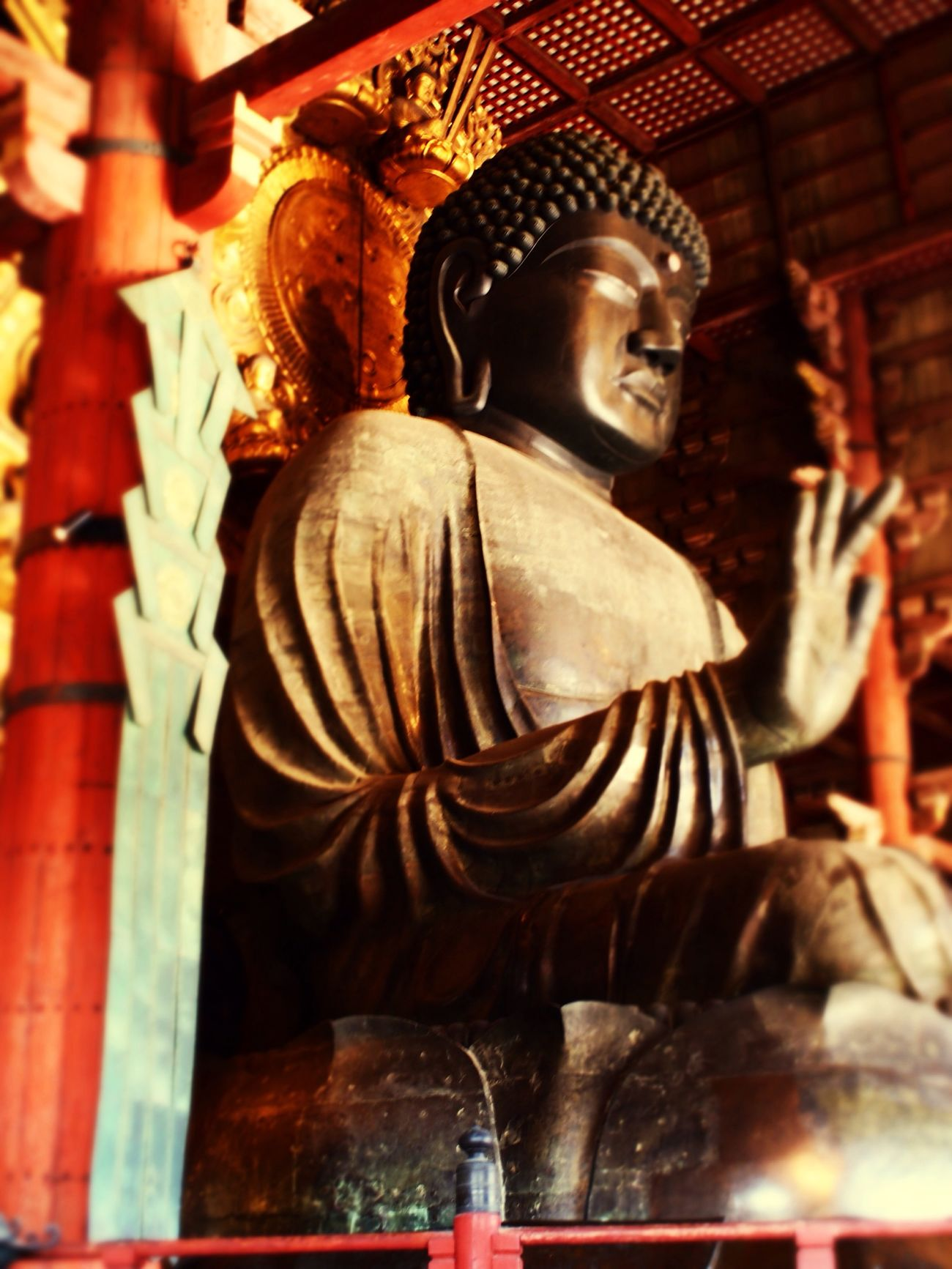 The colossal Buddha of Nara Traverl Travel Photography Japan Architecture