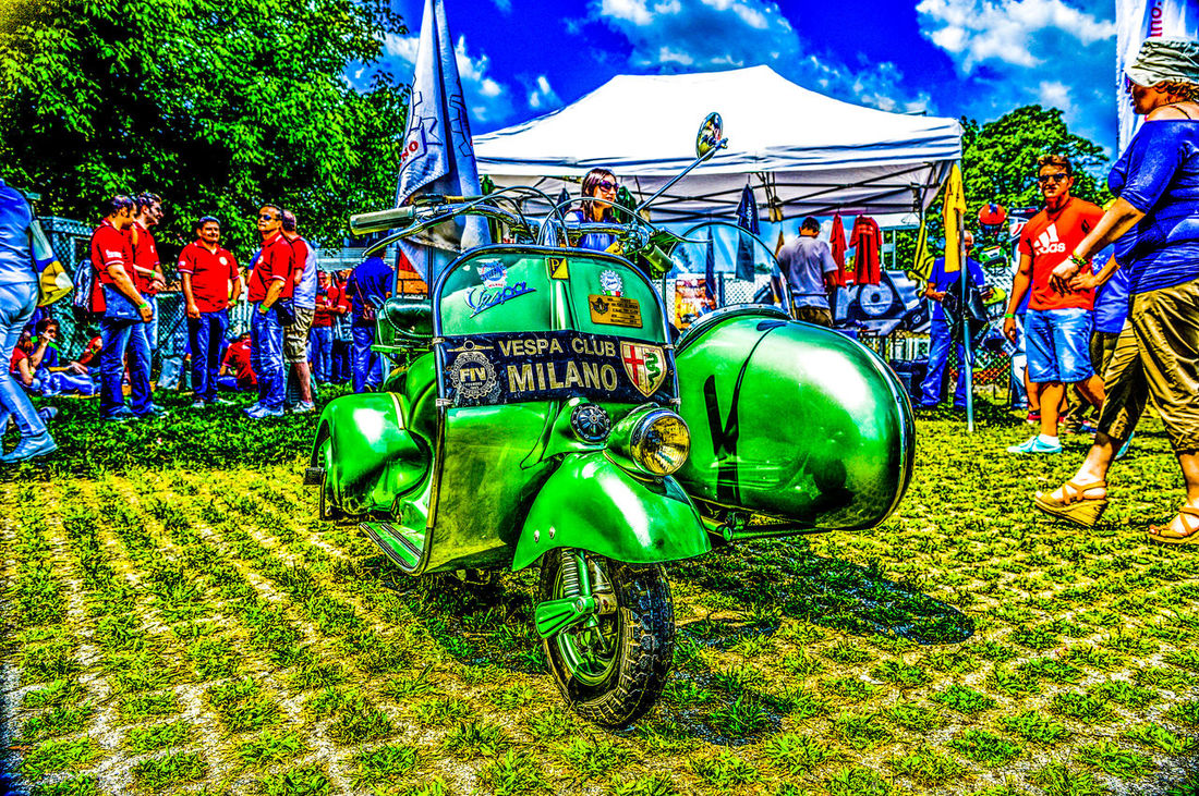 Vespa club, autodromo di Monza. HDR Hdr Edit HDR Collection Hdr_lovers Hdrphotography Hdr_gallery Hdr_arts  Hdr_Collection Autodromodimonza Nikonphotography