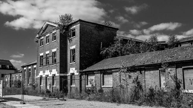 Saint Edmund's Hospital (former workhouse), Northampton Workhouse Hospital Northampton Black And White