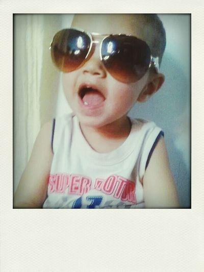 Meu sobrinho neto..