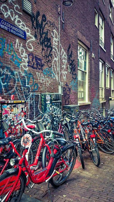 Amsterdam Streetphotography Netherlands2014 Bikes Photography Pictureoftheday EyeEm Best Shots Bestoftheday Colorful