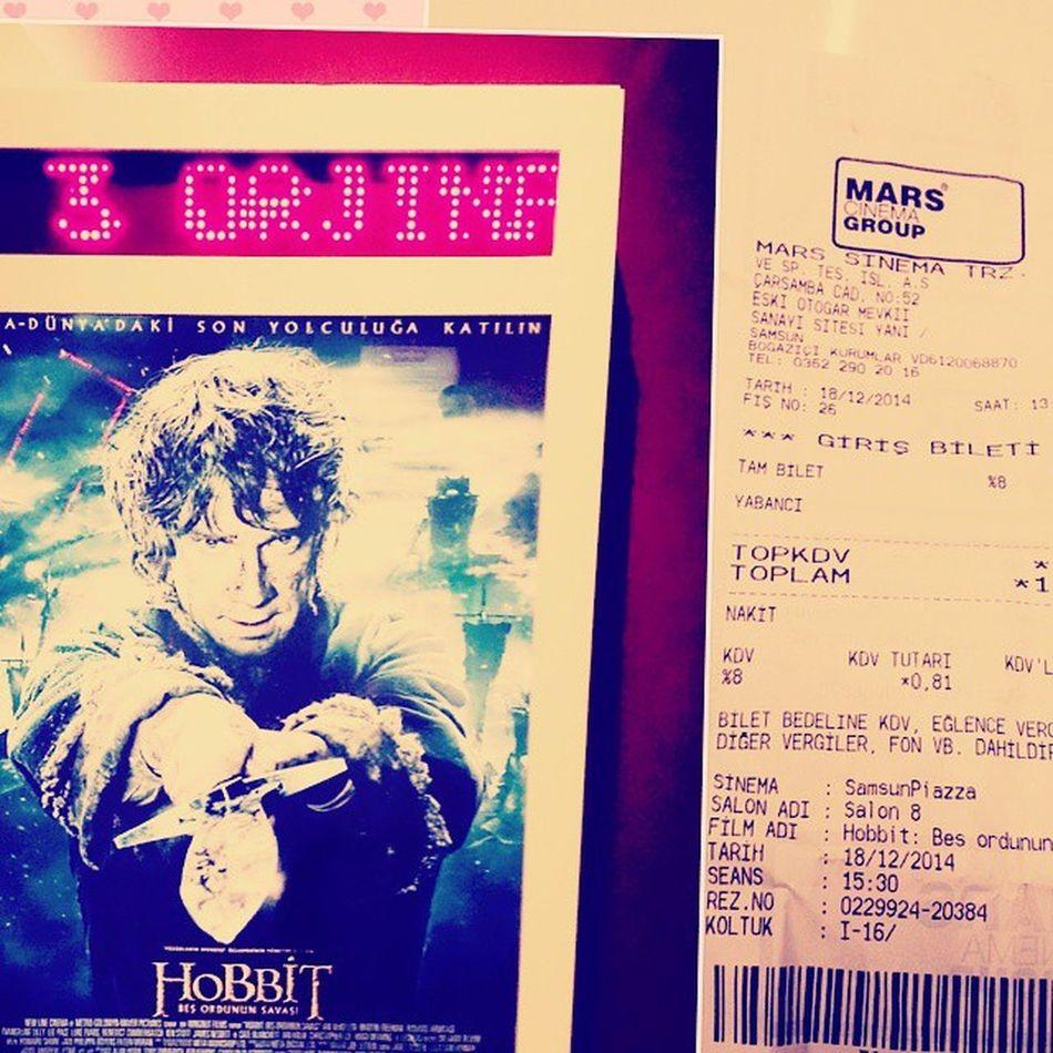 Hobbit Serisinide Tamamladık 😃😃👍