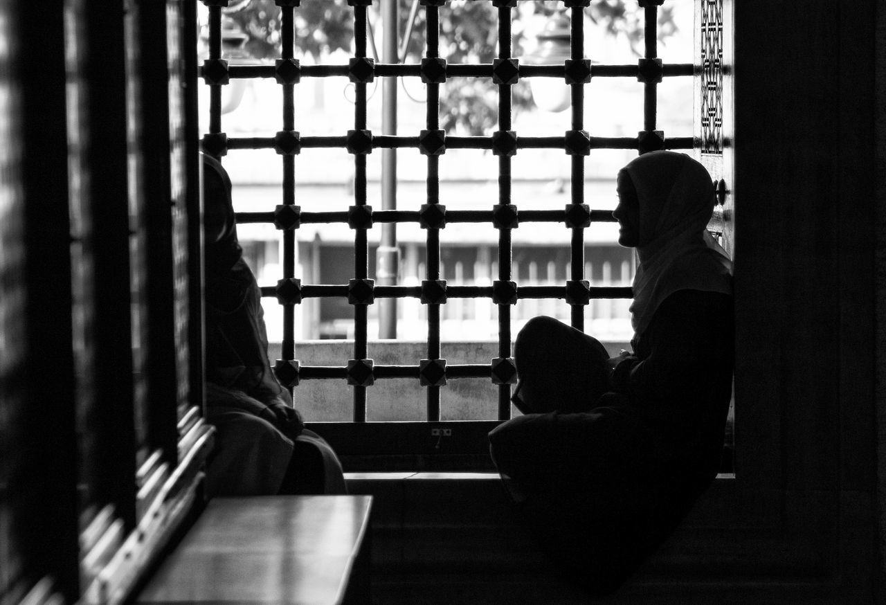 Blackandwhite Black And White Window Sitting Capture The Moment Silhouette Light And Shadow EyeEm Gallery