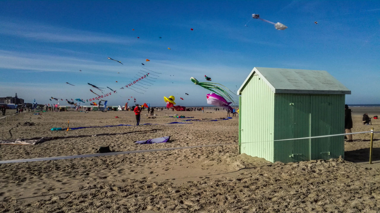 Beach Beauty In Nature Berck Berck Plage Blue Cloud Clouds And Sky Coastline Côte D'Opale Horizon Over Water Kite Kites Outdoors Plage Sand Sand & Sea Scenics Sea Sea And Sky Sky Summer Summer Views Summertime Water Waterfront