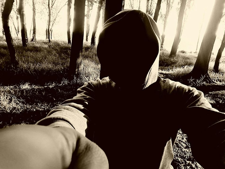 Selfie Bosquedetlahuac Sombras In The Forest