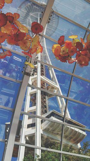 Spaceneedle USA Glassmuseum