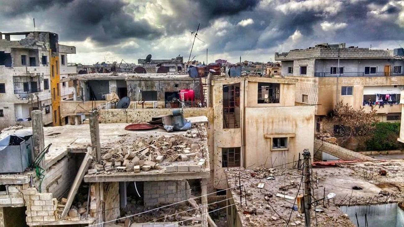 Dara'a-Syria War Revolution