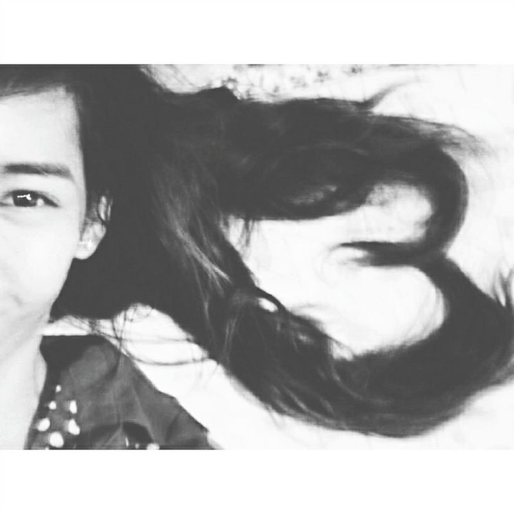 Black n White Eyeemers EyeEme Vain Hair Heart ❤