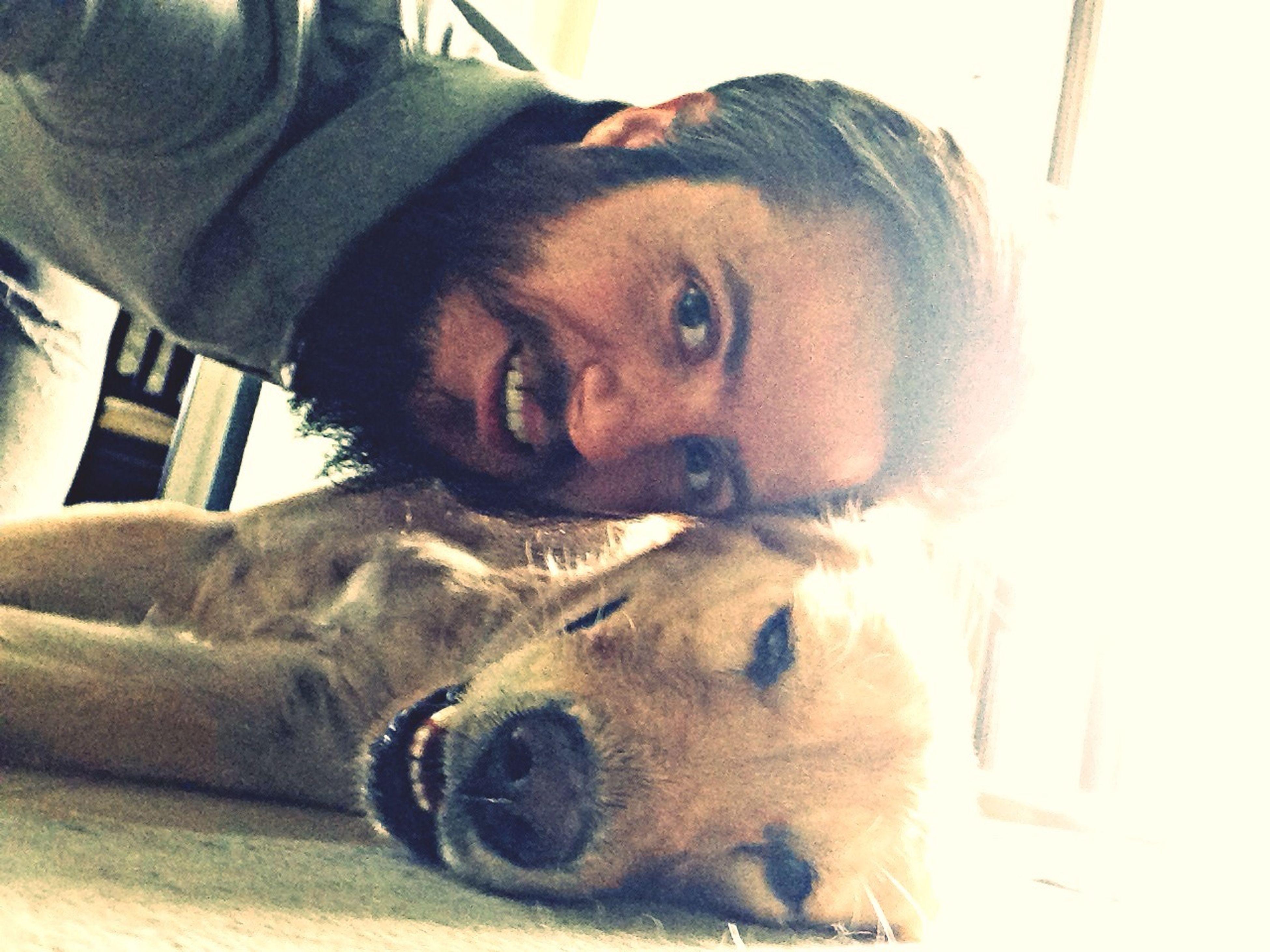 Self Portrait I Love My Dog Izmir ❤