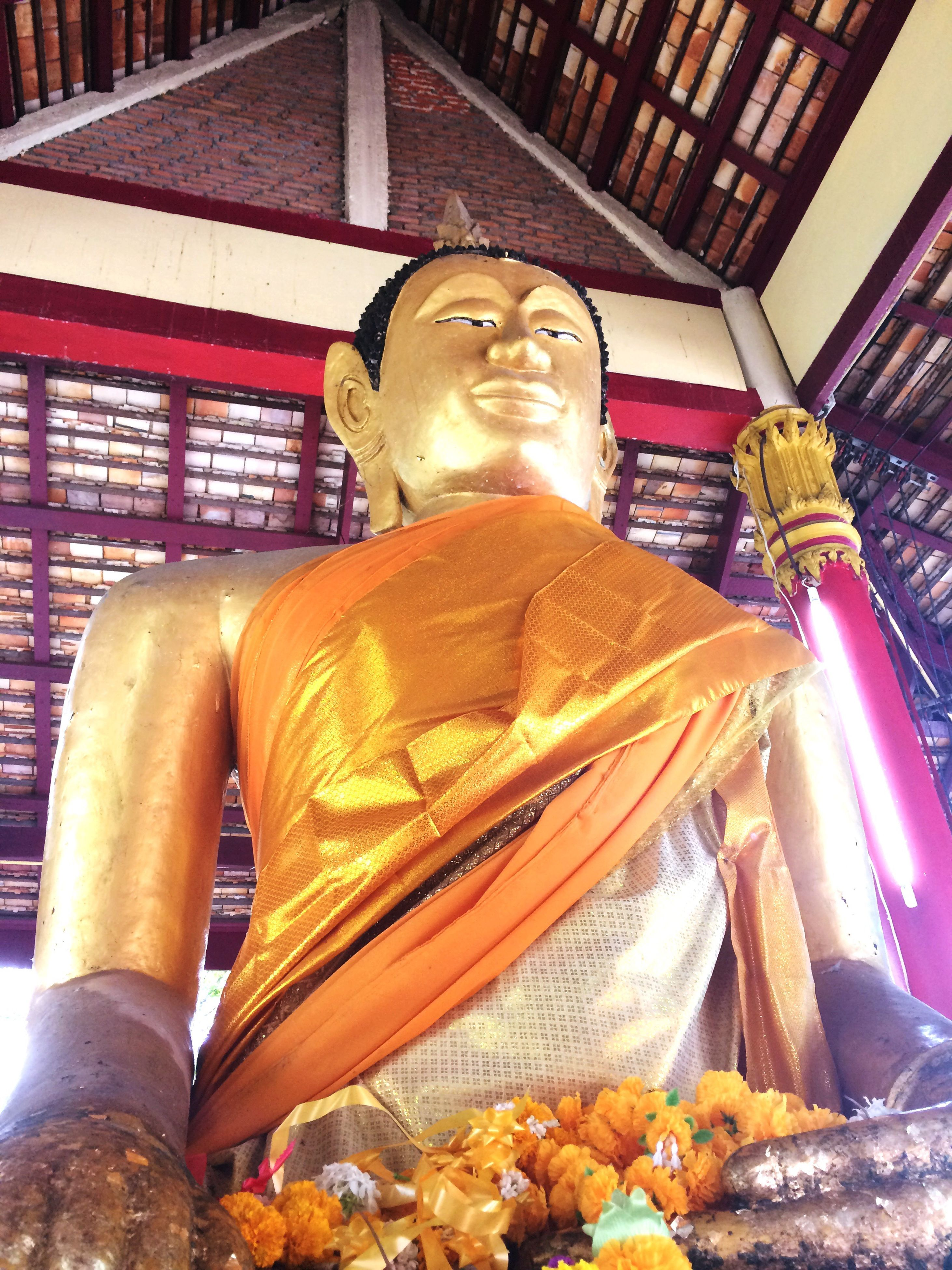religion, human representation, statue, indoors, spirituality, place of worship, sculpture, gold colored, no people, idol, close-up, day