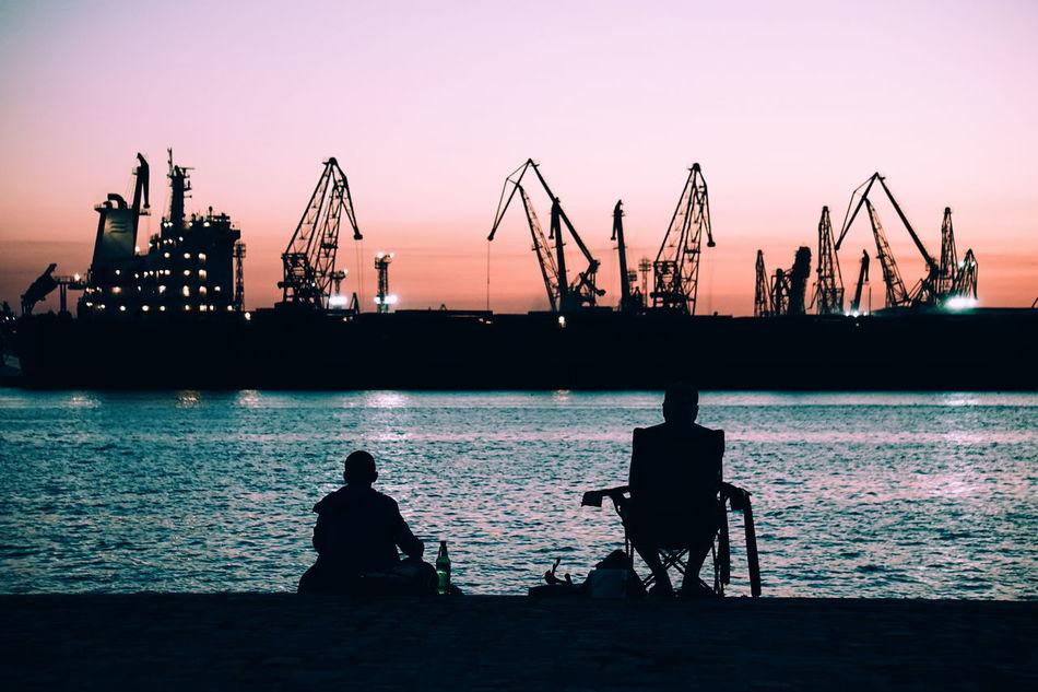 Beautiful stock photos of urban photography, Beach, Bonding, Clear Sky, Commercial Dock