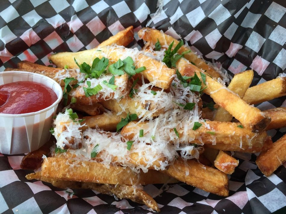 Parm fries Foodspotting