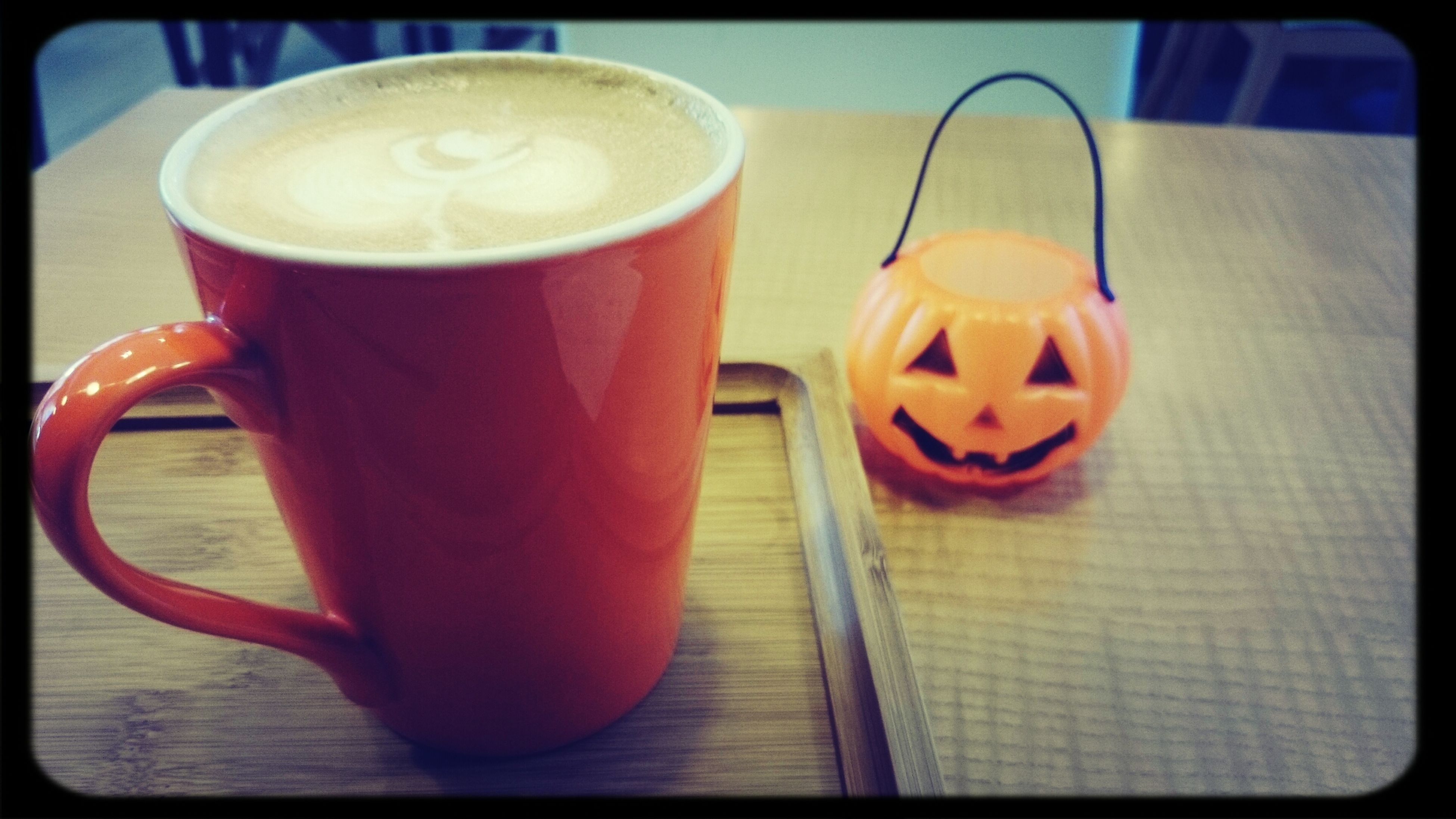 How about a cup of Latte. Drinking A Latte