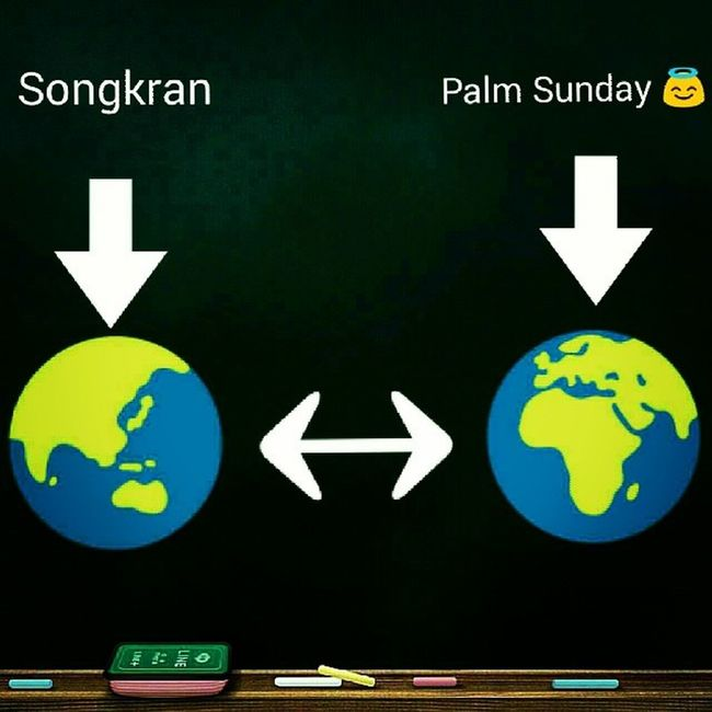 In Thailand ...The New Year / In Spain ...Palm Sunday ?