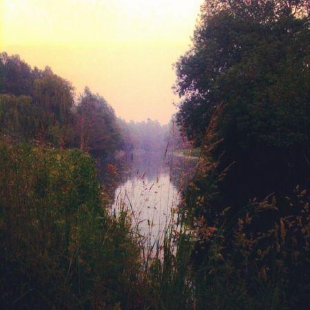 River stour Sudbury Suffolk UK...Midsummer evening