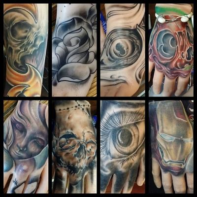 Some of the Apof Apoundofflesh @apoundofflesh hands arms and feet that I have done. Would of posted all of them but ran out of room haha. Go get yours now! @apoundofflesh worth every penny.