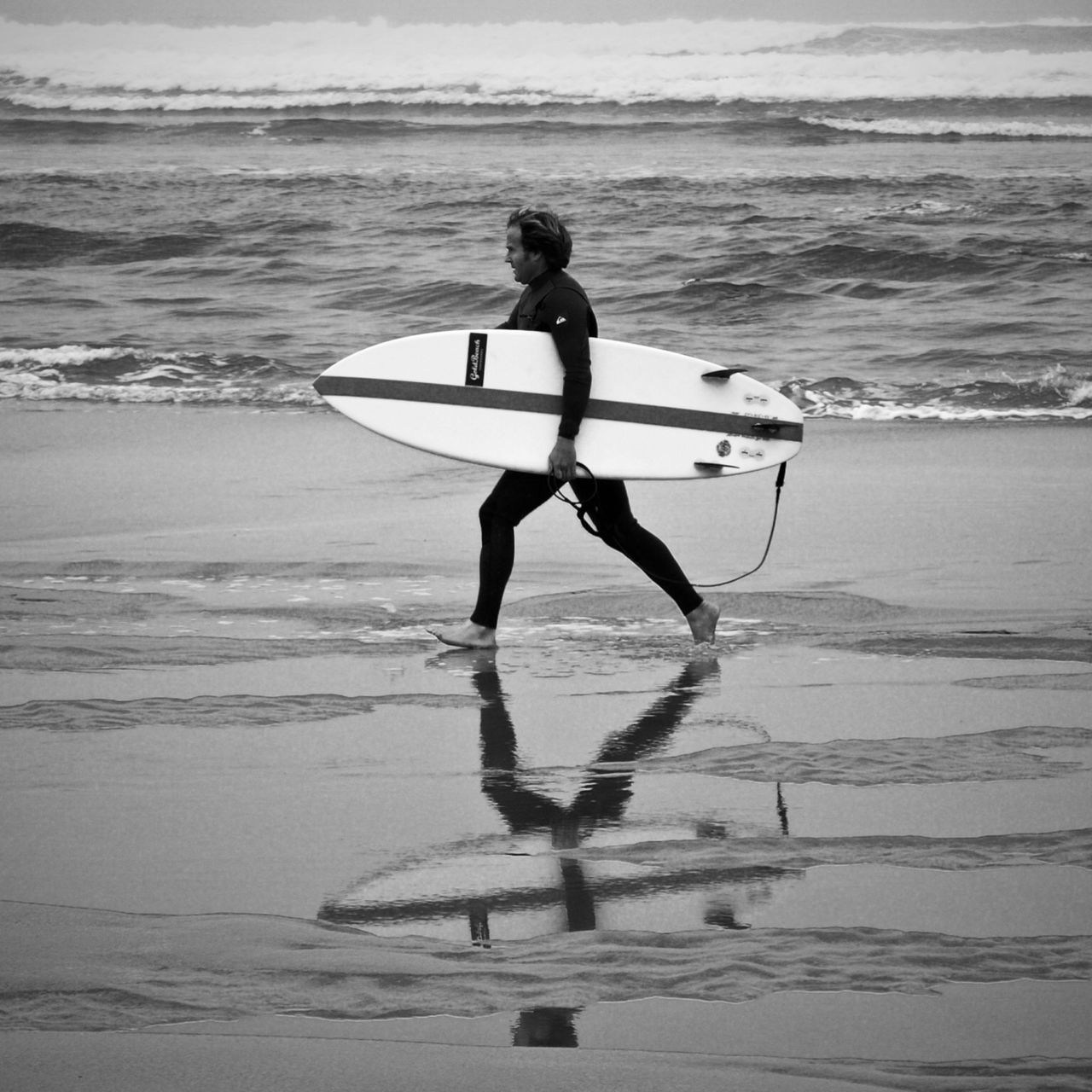 Perfect Match Surfer Surf Surfin Surfing Surfboards Beach Beach Day Bnw Blackandwhite