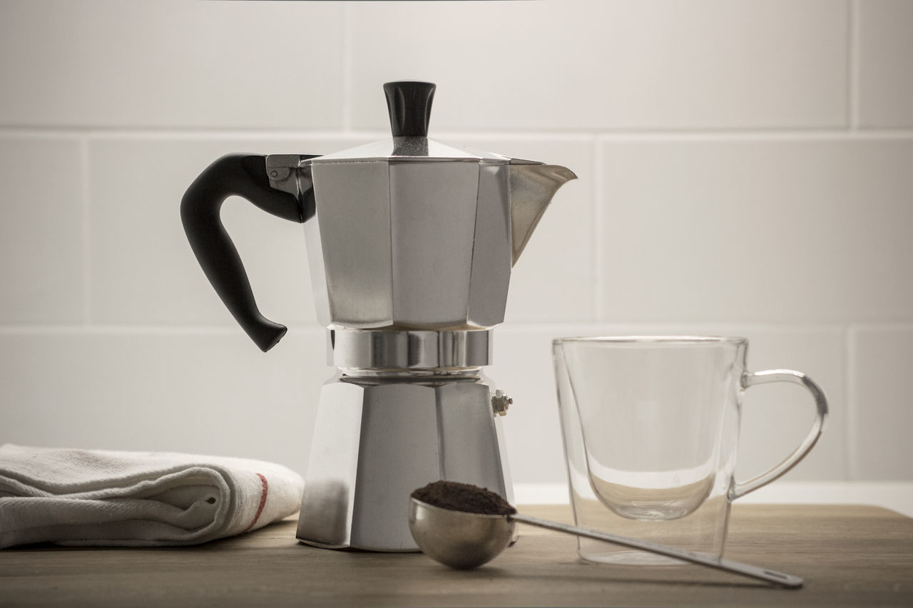 Appliance Coffee - Drink Coffee Cup Coffee Maker Coffee Pot Cup Day Domestic Kitchen Domestic Room Drink Espresso Espresso Maker Food And Drink Indoors  Kitchen No People Mokapot moka pot
