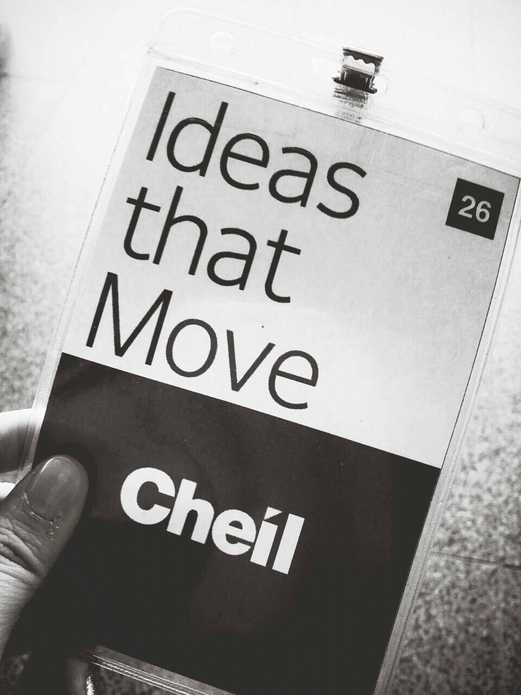 Cheil Ideas 이태원 제일기획 IDEAS THAT MOVE 제일기획 카피