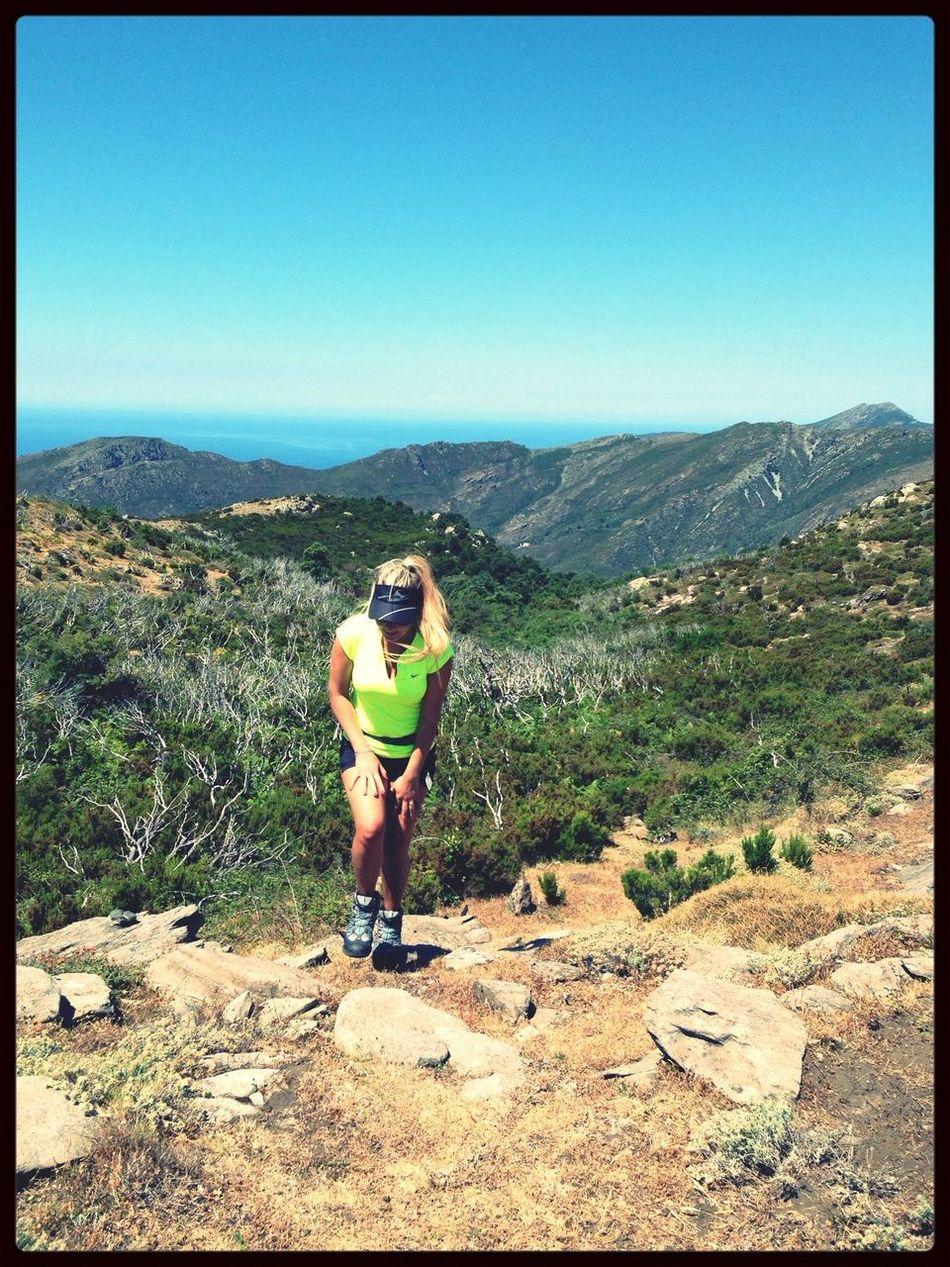 en route pour st jean ! Montagne Corse Trailrunning Capcorse