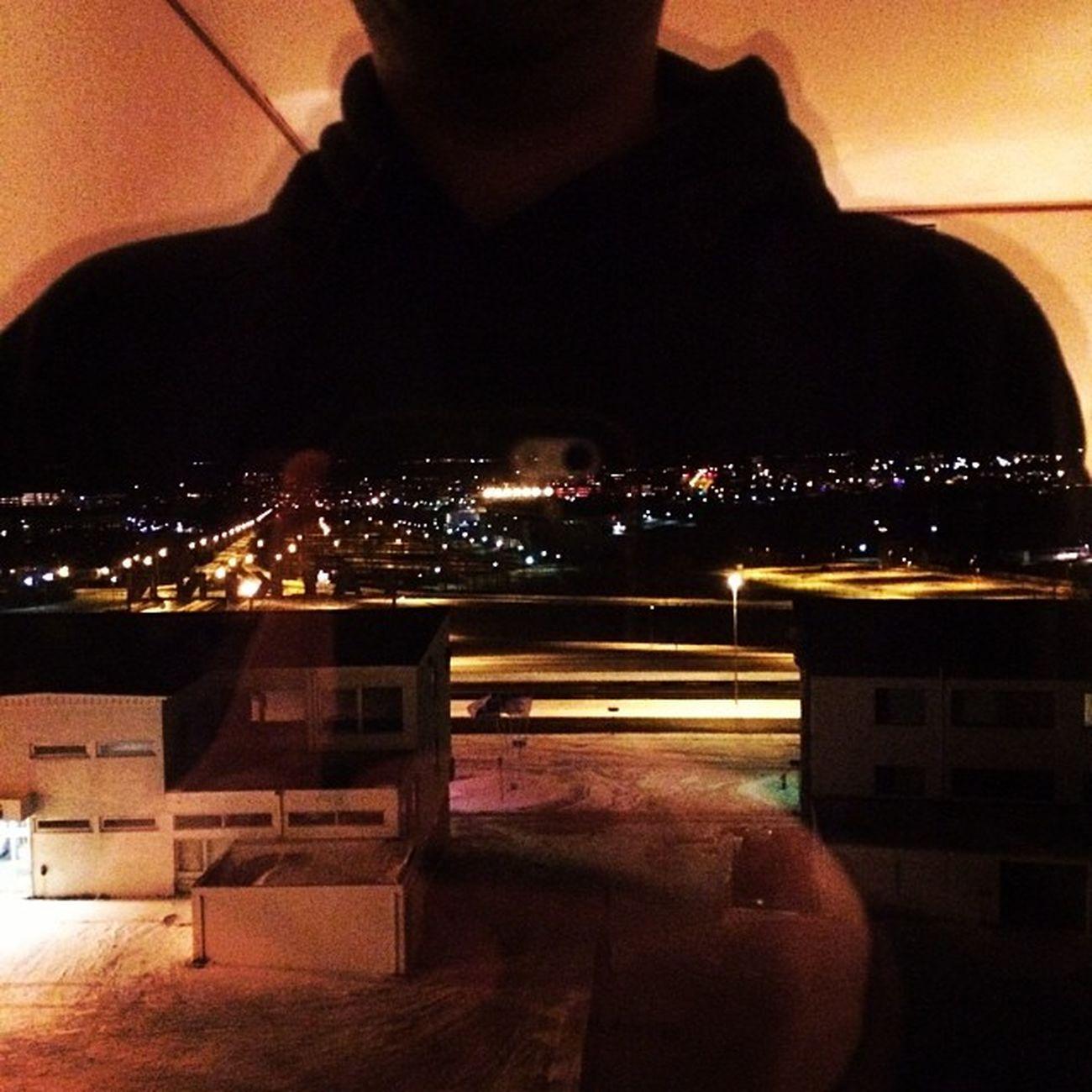 View. #iceland #dark #morning #reykjavik #selfie #now Morning Selfie Now Dark Iceland Reykjavik
