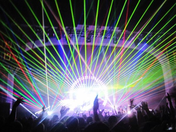 Soundtrack Of Our Lives Hospitalitynight Rave Lasershow Smoke Gig Drumandbass Dnb