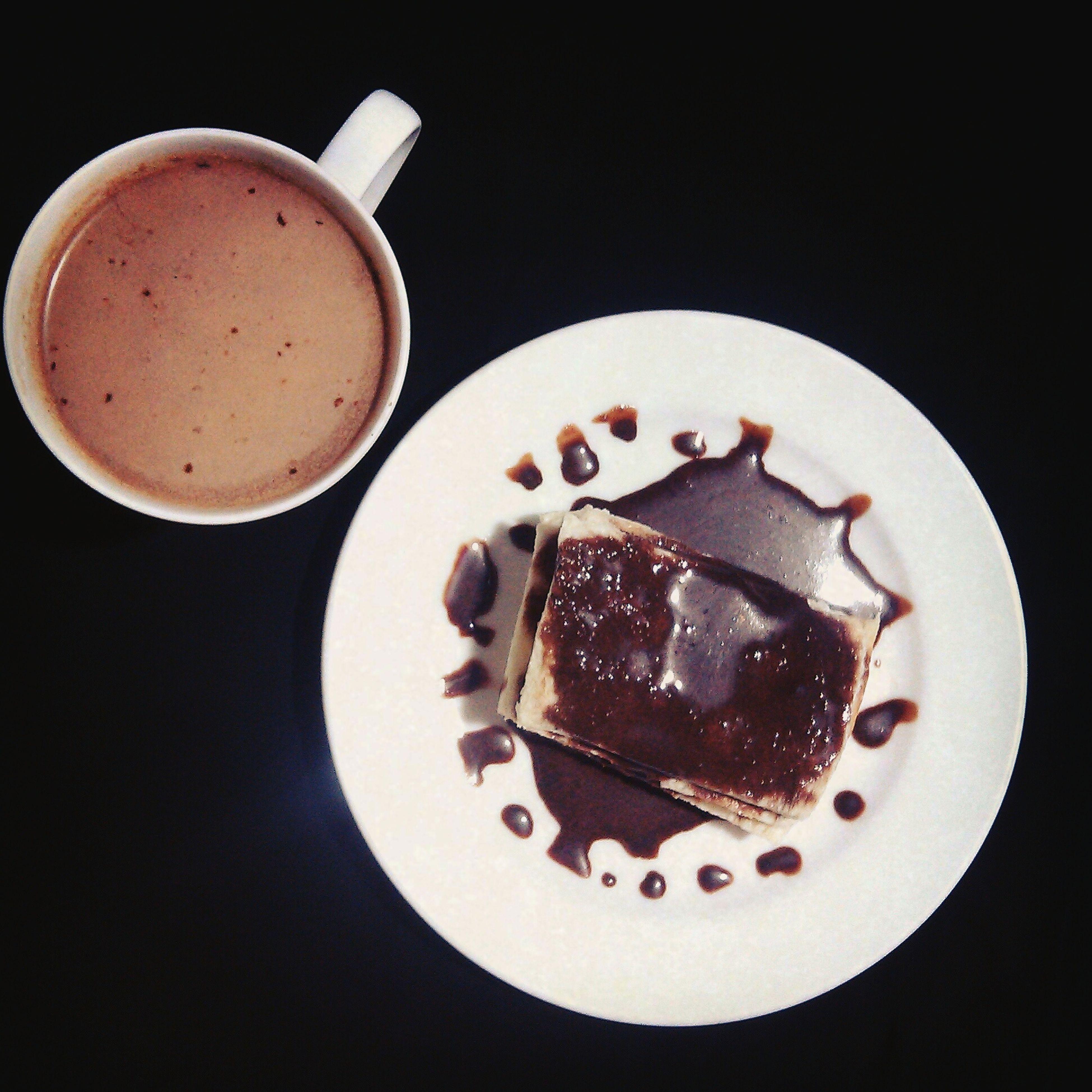 Sweetheaven Chocoholic Notphotogenicfood Coffee Ideaofasnack Notperfect Stillgoodtho