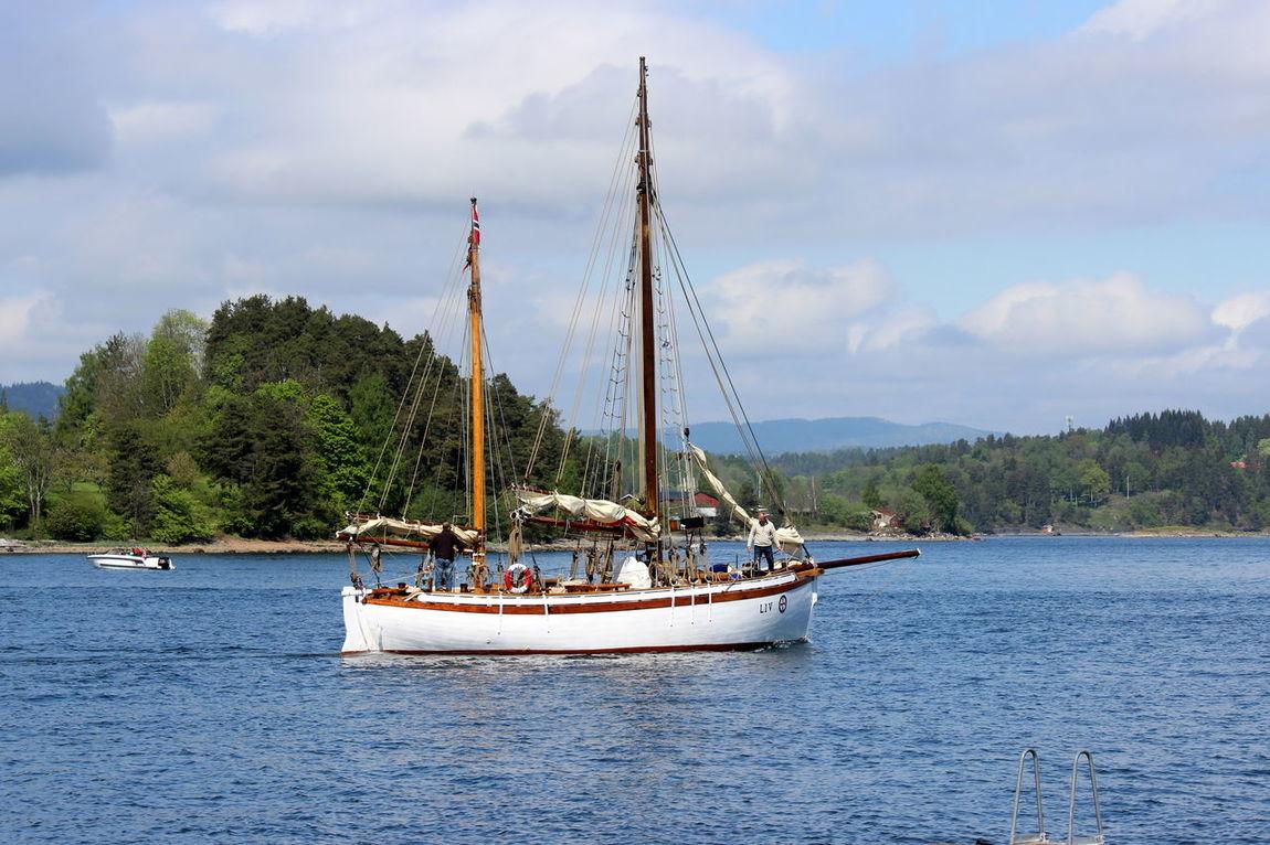 Boat Motion Oslofjord Sailing Sailing Boat Scenics Sea And Sky Sea Life Seascape