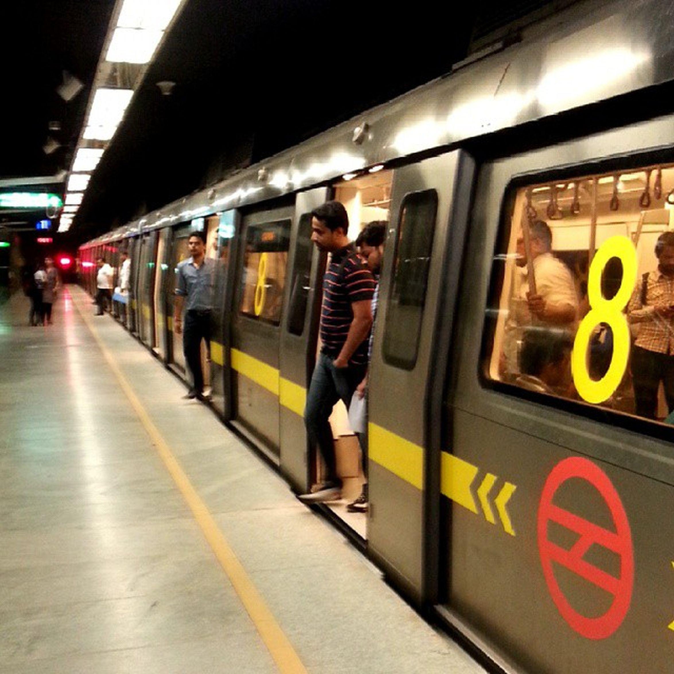 DelhiMetro DMRC Underground Mobileupload picoftheday