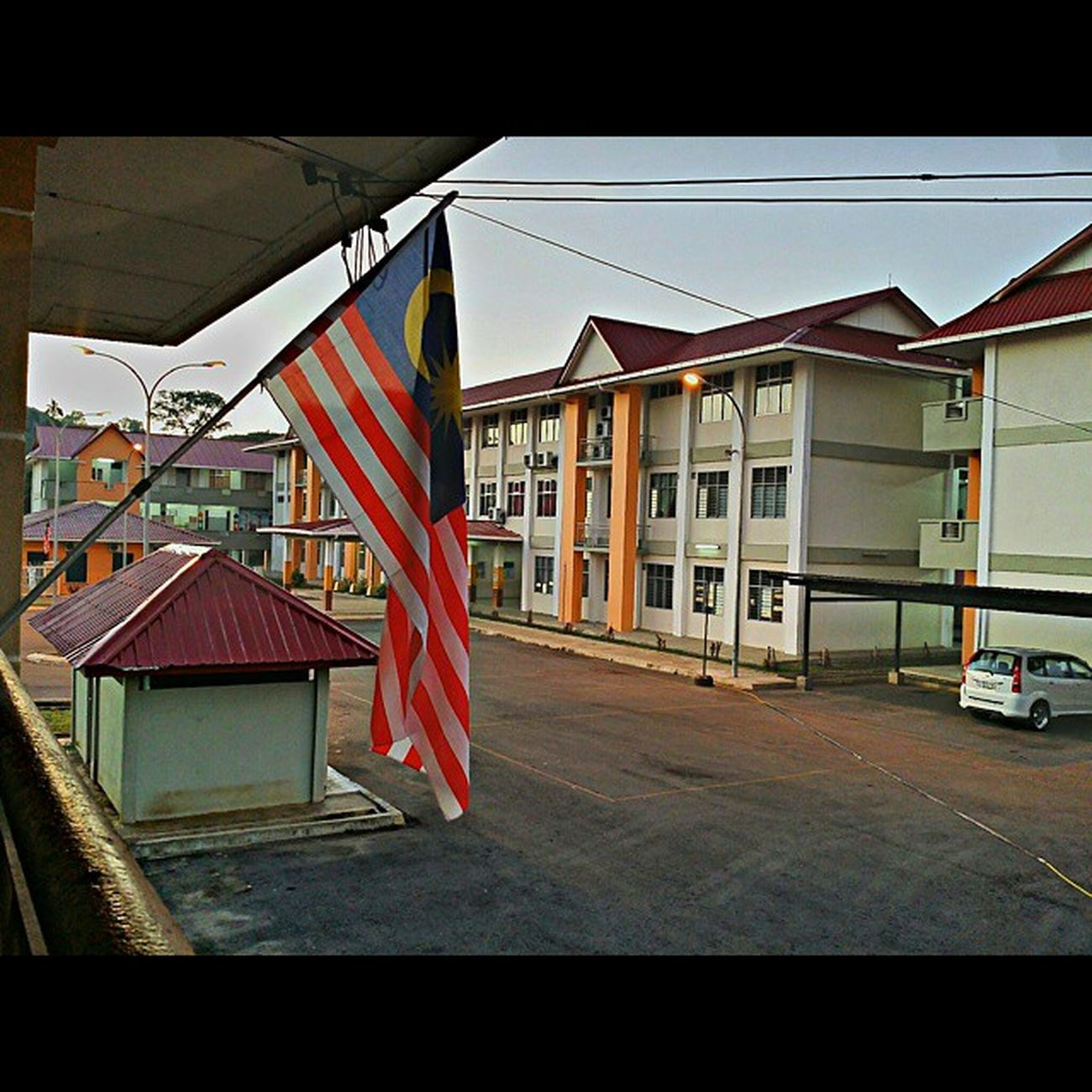 happy National Day, Malaysiaku ! * SK Kunak 2