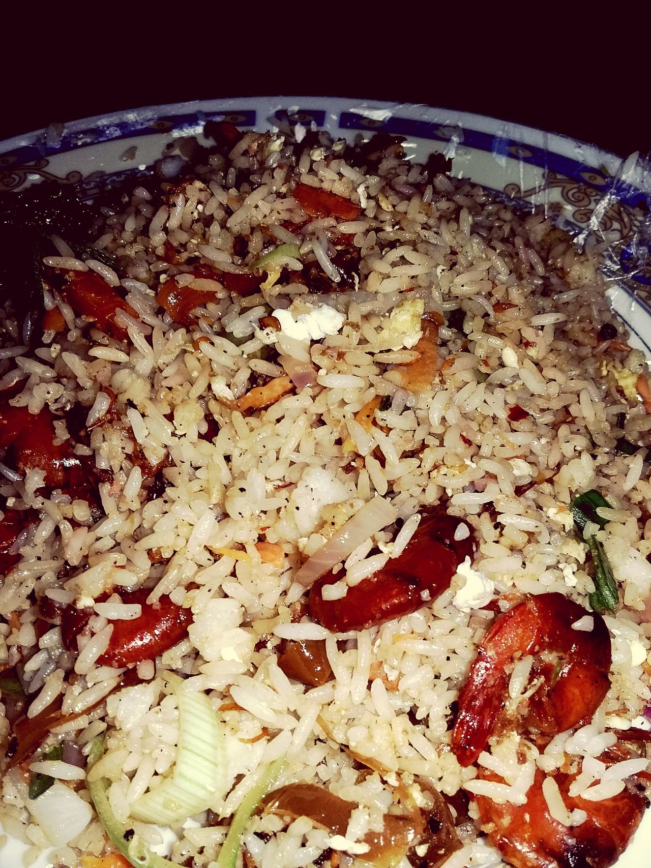 Fried Rice Withfriends Non Veg Lunch Time! Hello World