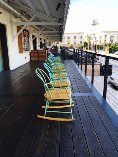 Outdoor seating Rocking Chair Anaheim Packing House Hanging Out Anaheim