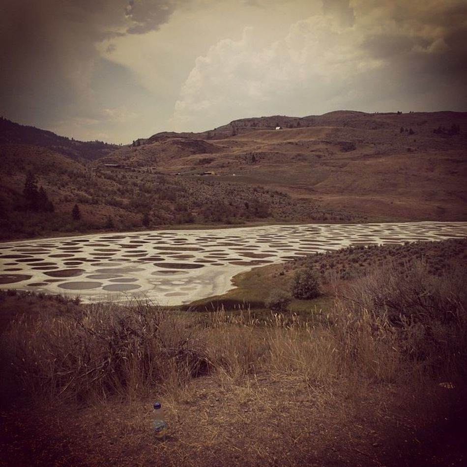 Osoyoos Spotted Lake FirstNation spiritual minerals beautifulbc okanagan valley Canada