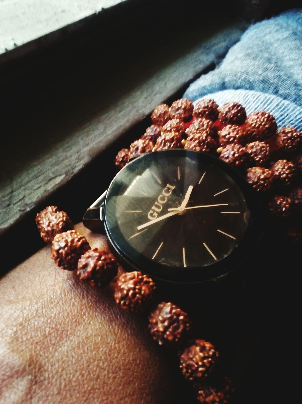 No People Clock Day Close-up Indoors  Brand GUCCI Watch
